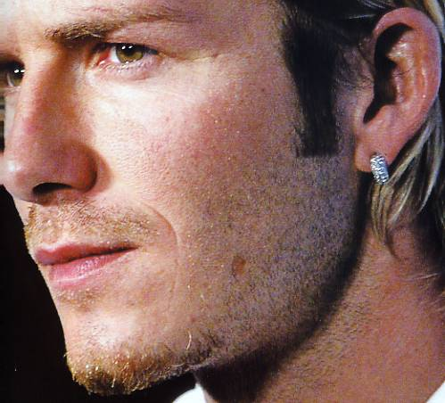 david beckham earrings