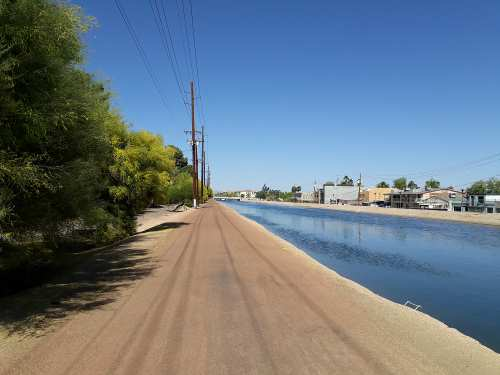 I quickly discovered that a runner's high was most easily achieved while running on a dirt road on a flat surface, such as along the canal system in Phoenix, Arizona, in the Valley of the Sun.