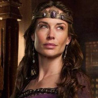 Pic of my personal muse, Claire Forlani, taken from the TV series Camelot.