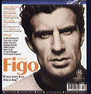 Image Credit:  Champions Magazine, February/March 2004 Issue, a section of the cover feature the likeness of Luis Figo.