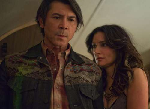 Star crossed lovers Deena and Henry Standing Bear of the Longmire TV series.