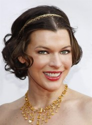 Photo of Milla J., the French actress of Resident Evil fame.