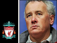 Image Credit:  BBC Wed Site, a photo of Liverpool chief executive Rick Parry