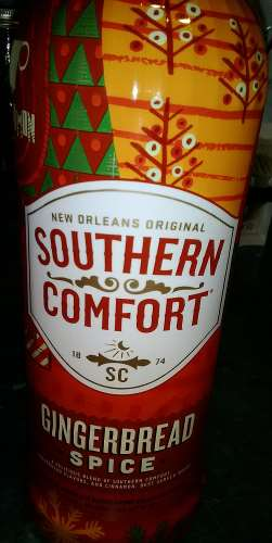 Gingerbread Spice booze from Southern Comfort of New Orleans, LA.