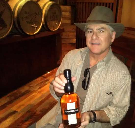 Good friend Steve Martin after the bourbon tasting session at Heaven Hill Distillery's Evan Williams Bourbon Experience on Main Street in Louisville, KY, which, while not a full on distillery of fine spirits, was still pretty darn cool, and concluded with a bourbon tasting session which rivals that of the Jim Beam Urban Stillhouse on Fourth Street.