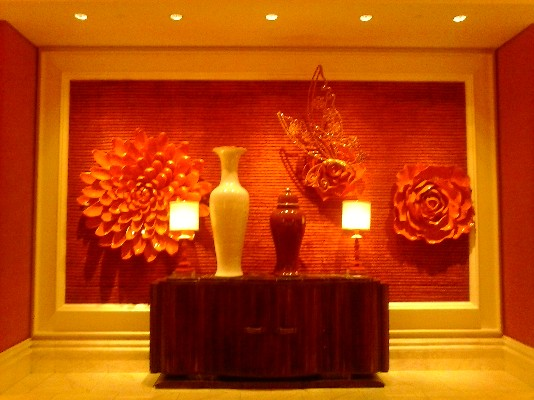 Art work found within the halls of The Wynn and Encore Resorts in Las Vegas, NV.