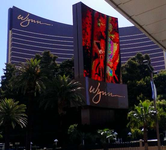 Inspiration for my Las Vegas Strip poetry can be credited to The Wynn Resort Las Vegas, named after casino developer Steve Wynn, taken from The Deuce bus stop on Las Vegas Blvd in front of Fashion Show Mall.