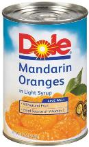 Mandarin orange slices are a refreshing snack after any form of vigorous activity, as is a can of fruit cocktail.