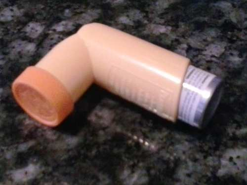 Pic of a Proventil Inhalant, which I used quite a bit over the years.