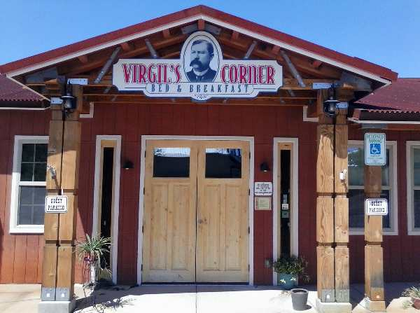 Pic of Bed and Breakfast named after Wyatt's brother Virgil, which also sits on Freemont Street in Tombstone, AZ.