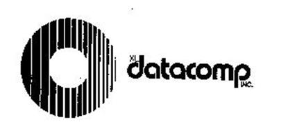 Logo of the computer products company XL/Datacomp, Inc. of Hinsdale, IL, which had locations all over the country and in London, UK.